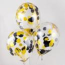 Прозрачные шары с конфетти №3