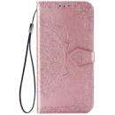 Кожаный чехол (книжка) Art Case с визитницей для Xiaomi Mi CC9 / Mi 9 Lite Розовый