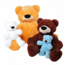 Медведь сидячий «Бублик» игрушка 180,150,110см
