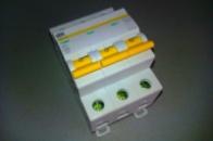 Автоматический выключатель 3р 20А ИЕК ВА47-29