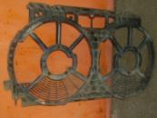 Диффузор вентилятора(ов) охлаждения радиатора двигателя