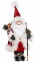 Новогодняя мягкая игрушка «Санта с гостинцами» 32х20х60см