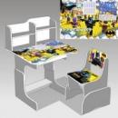 Парта шкільна «Бетмен» 032 + 1 крісло (ціна вказана зі знижкою)