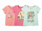 Комплект футболок 3 шт для девочки Lupilu