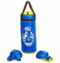 Детский боксерский набор (перчатки+мешок) FULL CONTACT 4675-B синий