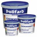 Краска Polifarb «Снежинка» 3,8 кг