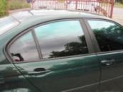 Тонировочная автомобильная пленка Sun Control GreenGradation ( тюнинг пленка Зеленый переходник )