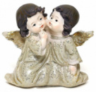 Статуэтка декоративная «Два ангелочка» 9см