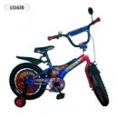 Велосипед 2-х колес 14« »Spiderman« со звонком,зеркалом,вставками в колесах