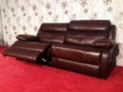 Кожаный диван ReLax (реклайнер) производства Германии