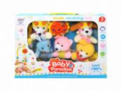 Музыкальная подвеска-карусель мобиль Baby Pardise большая Beiying Toys 648A-35 Разноцветный (tsi_24906)