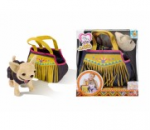 Собачка Чиахуахуа в сумочке индийский стиль