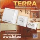 """Накладные выключатели и розетки серии """"Terra"""" торговой марки LXL (140)"""