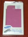Чехол книжка Samsung GALAXY Note II N7100 EFC-1J9FPEGSTD Pink