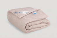 Одеяло IGLEN Roster 70% пух и 30% мелкое перо Зимнее 160х215 см Светло-розовый (1602152)