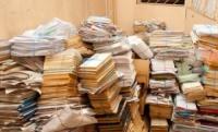 Прием и вывоз старых книг из библиотек (макулатуры).