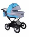 New 2015! Универсальная коляска 2 в 1 Babyhit Evenly Blue, голубой