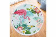 Пляжный коврик Два Фламинго 150 см