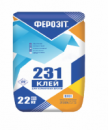 Ферозіт 231 клей для керамічних блоків ТЕПЛОУТРИМУЮЧИЙ с перлітом