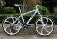 Элитный Велосипед FERRARI CX50 White на литых дисках