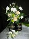Аксессуары (бутоньерки, браслеты, украшение свадебных бокалов)