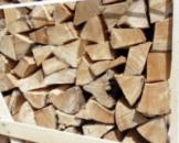 Дрова ясеня колотые по 30-40 см