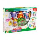 Карусель музыкальная мобиль Зверушки Kronos Toys 2837 Разноцветный (tsi_54427)