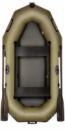 BARK 240D Двухместная гребная, двигающееся сидение