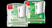 Сенсорная автоматическая система No-Touch для антибактериального жидкого мыла Dettol