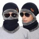 Зимняя шапка шарф для мужчин