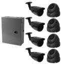 HD система видеонаблюдения на 8 камер 1200ТВЛ с установкой