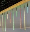 Светодиодная динамическая иллюминация «Метеор»  зеленый цвет  6 \  30x2,5 см