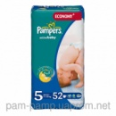 Pampers Active Baby 5 (11-18кг) 52 шт