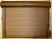 Рулонная тканевая ролета закрытого типа типа 1000х1500, механизм «Vega-Lux»