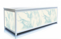 Экран под ванну Пан Билан - ЭЛИТ 150см. Голубой Мрамор