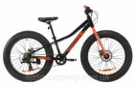 Велосипед AL 24« Formula PALADIN DD 2020 (черно-красный с бирюзовым)