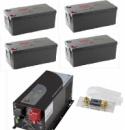 Инверторно-аккумуляторная система 4 кВт