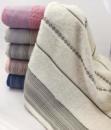 Банные полотенца Sweet Dreams M14 70х140см, хлопок, 6 штук