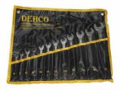 Набор ключей рожково-накидных 15 шт сумка DEHCO DT-15