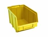Ящики для метизов пластиковые желтые Арт.701 Ж/складские контейнеры пластик,контейнер для метизов,складской контейнер