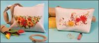 Набор: сумка текстильная «Лето» + косметичка «Солнечная»