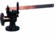 Клапан предохранительный рычажно-грузовой чугунный фланцевый однорычажный 17Ч18БР/НЖ