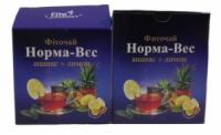 Фиточай № 4 Норма-Вес с ананасом и лимоном 20 пакетов по 1,5 г