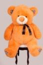 Плюшевый медведь Клетка 130см Светло-коричневый