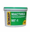 Гидроизоляционная мастика МГ-1 1,0 / 6,0 / 12,0 / 20 кг ЛИДЕР