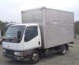 Лобовое стекло Mitsubishi Сanter малый  (1996-2005)