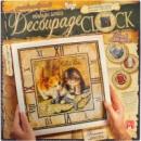 Декупаж часы Decoupage Clock