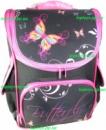 Рюкзак каркасный ортопедический школьный для девочки с Бабочками