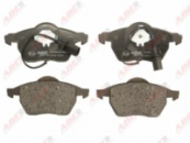 Гальмівні колодки дискові перед. Audi A6 1.8-2.8 97- VW Passat Skoda C1W027ABE
