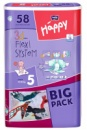 Подгузники Bella Happy 5 BIG PACK (9-20 кг) 58 шт